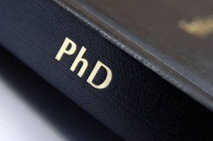 تکمیل ظرفیت دکتری ۹۶