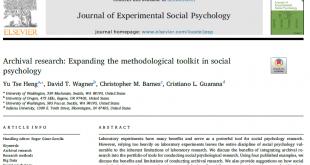 مقالات علمی روانشناسی